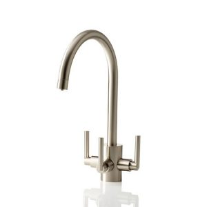 APL Cirrus Brushed Nickel 3 Way Tap