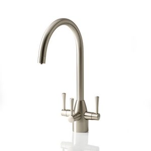 APL Stratus Brushed Nickel 3 Way Tap