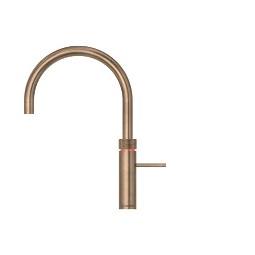 Fusion Round Patinated Brass