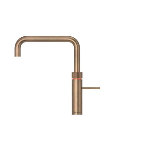 Fusion Square Patinated Brass
