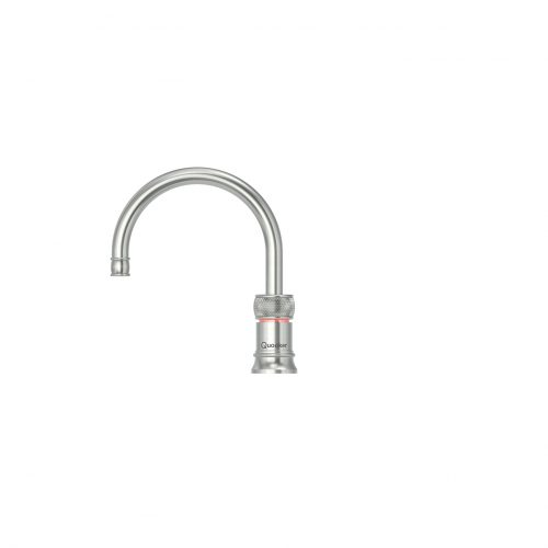 Round Classic Nordic Single Tap Stainless Steel